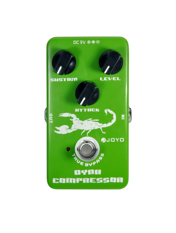 Joyo JF-10 Dynamic Compressor Electric Guitar Effect Pedal Reduce The Redundant Dynamic Ensure Your Performance True Bypass