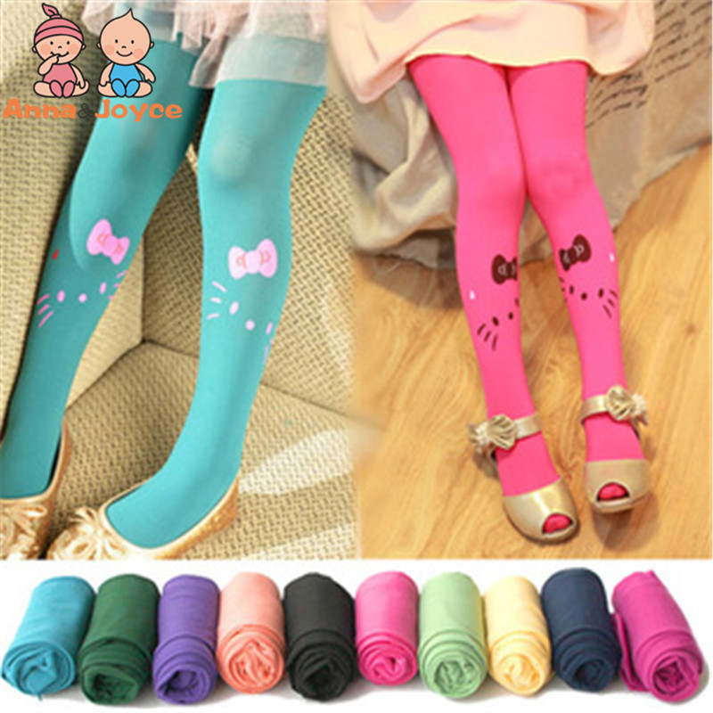 Girl ChildrenS Dancing Stocking For Girl 3-8Years Cotton Pantyhose