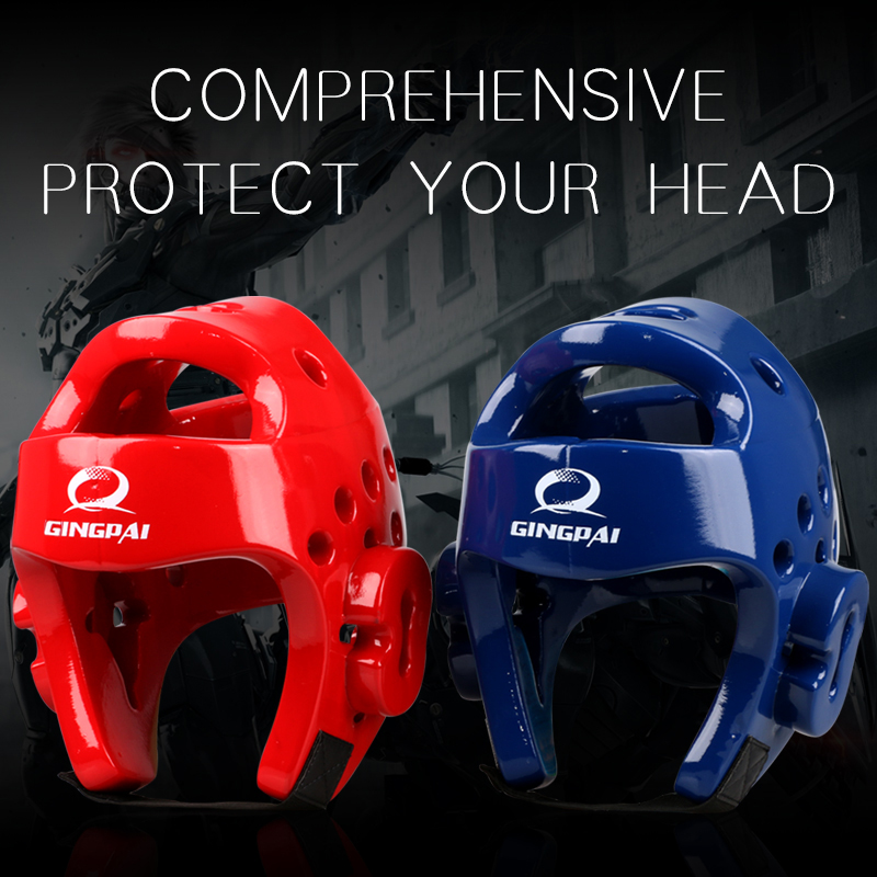 Taekwondo helmet Sanda kick Boxing Head Guard Headgear Protector Sparring Gear Helmet karate muay thai taekwondo head protection ...