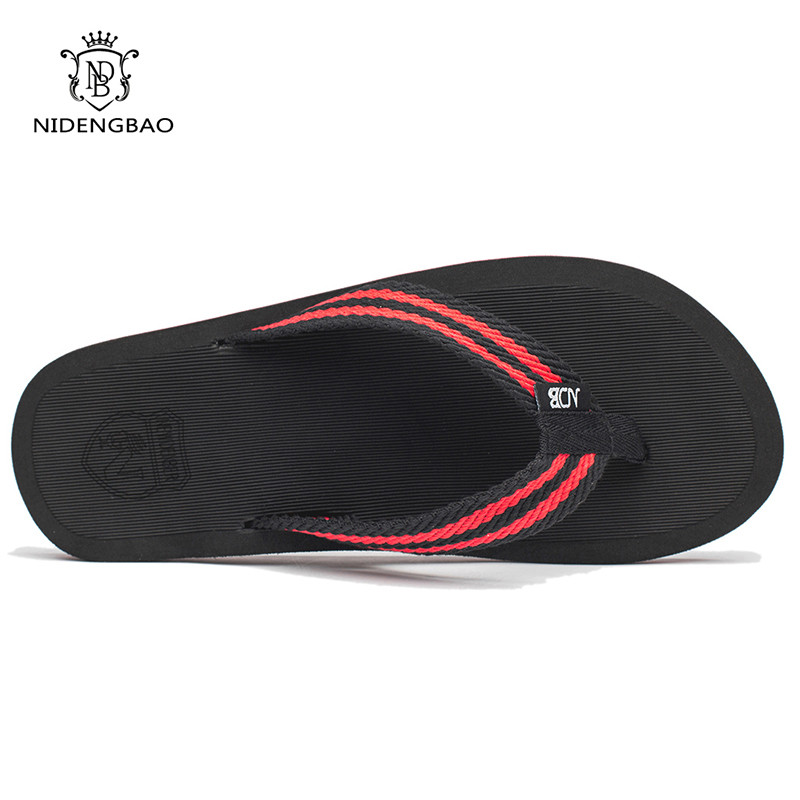 NEEDBO Flip Flops Men Summer Cool Platform Sandals Men Beach Shoes - Men's Shoes - Photo 5