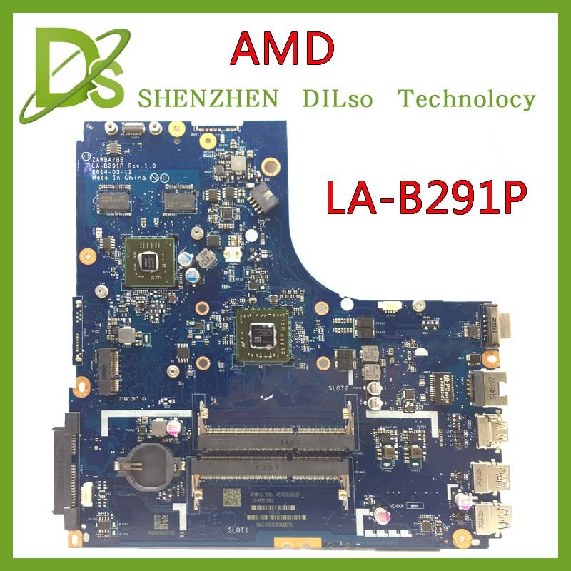 Bilgisayar ve Ofis'ten Anakartlar'de KEFU LA B291P Lenovo B50 45 LA B291P laptop anakart CPU Test B50 45 anakart title=