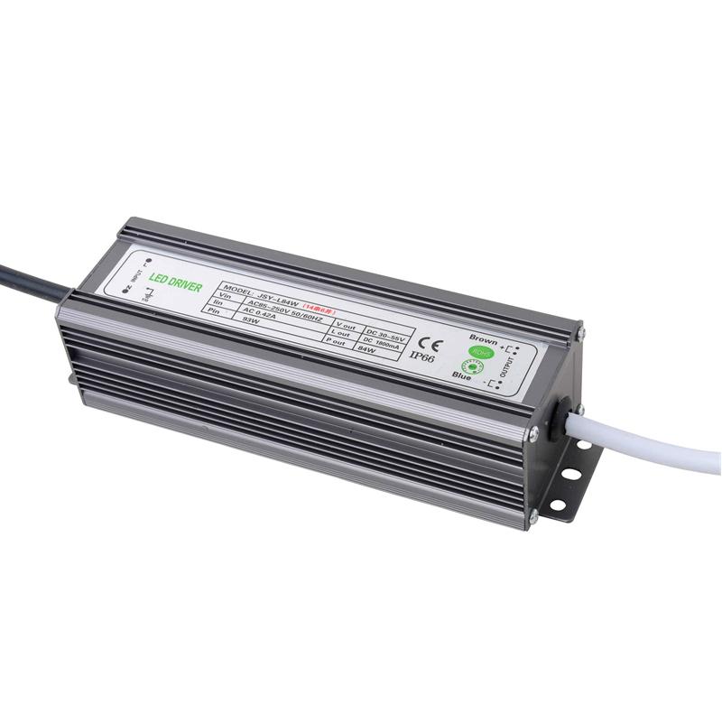 PHISCALE 1piece 84W IP67 Waterproof LED Driver Power Supply Constant Current AC100-260V 1800mA for 84W LED Bulb 40w led driver dc140 150v 0 3a high power led driver for flood light street light constant current drive power supply ip65