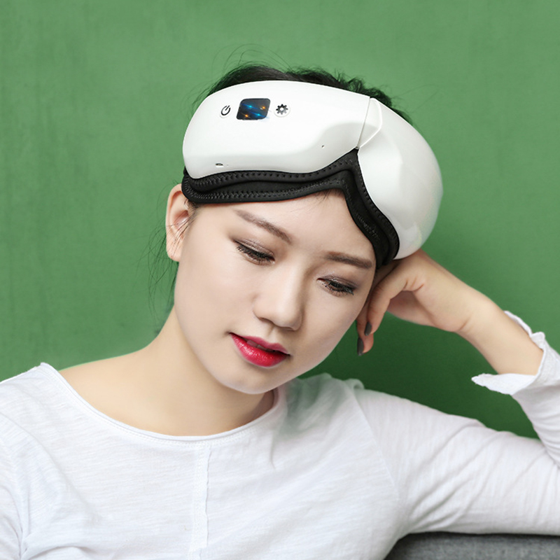 Electric Air pressure Eye massager Wireless Vibration Eye Acupuncture Points Massage Constant Temperature Heating Eye care-in Face Skin Care Tools from Beauty & Health    3