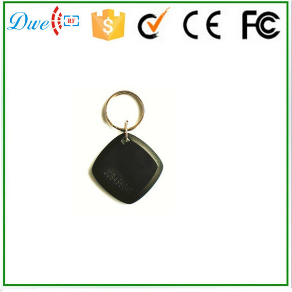 waterproof PVC passive 13.56mhz rfid key tag with chinese chip