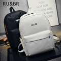 RU&BR Hot Sale Casual Style Canvas Backpacks Embroidery Sun And Moon Bags Women Backpack Fashion Rucksack Designer Shoulders Bag