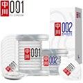 0.01&0.02mm super slim Condom 001&002 Invisible Ultra Thin Lubricated Condoms for men Sexual welfare Polyurethane Non-latex