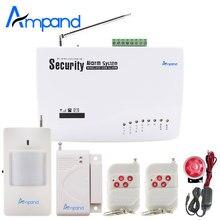 Высококачественная беспроводная домашняя GSM сигнализация с функцией дозвона и отправки смс. Всегда под защитой!