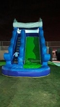 inflatable amusement park slide bouncer combo /inflatable water slide for sale
