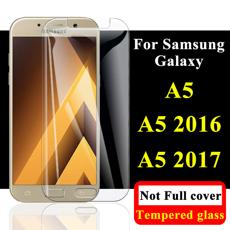 Protective Glass On The For Samsung Galaxy A5 2017 Screen Protector 2016 Display Tempered Sumsung A 5 Armor A52017 Galax A52016