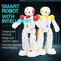 JJRC R12 Cady Wiso RC Robôs de Controle Remoto Inteligente Robô Sensoriamento Gesto Toque Inteligente Dança Brinquedo Eletrônico Para Crianças