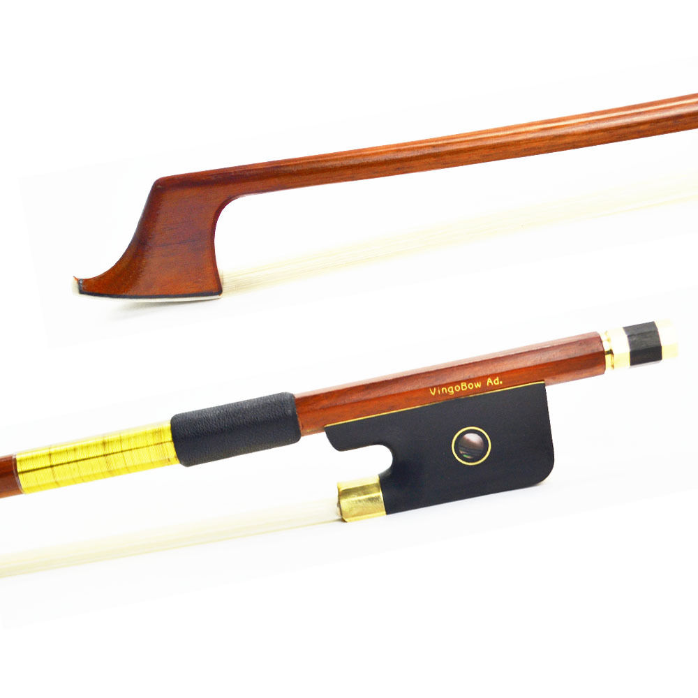 WELL-PACKED 4/4 Size 420C Pernambuco CELLO BOW Good Quality Ebony Frog and Horsehair Brass Alloy Fitted Violin Parts Accessories 1 pc nice quality snake wood cello bow ebony frog 4 4 white horse tail hair