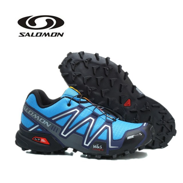 Original Men s Salomon SPEEDCROSS 3 Sport Sneakers For Male Outdoor  Trainers Breathable Footwear Running Shoes EUR 40-46 e4482ba143
