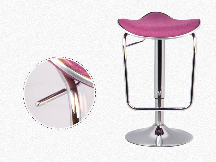 pink color bar chair free shipping living room bedroom stool household computer chair Yoga studio gym stool living room chair bar wine stool green color villa household chair stool retail wholesale free shipping