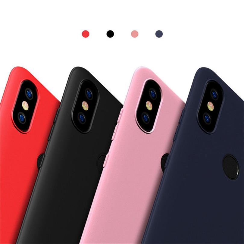 Soft TPU Phone Case For Xiaomi Mi 5 6 8 5S Plus 8SE Shockproof Matte Case  Cover For Xiaomi Mi Max 2 3 Pro Mix 2S A1 A2 Lenn