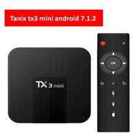 TX3 Mini Android 7.1.2 TV BOX Amlogic S905W 2GB16GB Quad Core H.265 4K 2.4GHz WiFi Media Player Android Box TX3 mini 1gb/2gb ram