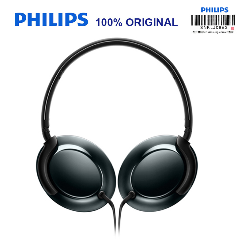 Philips Original SHL4805 Wire Control HIFI Earphone Bass Noise Cancelling Headset with Microphone for Xiaomi MP3 Official Test