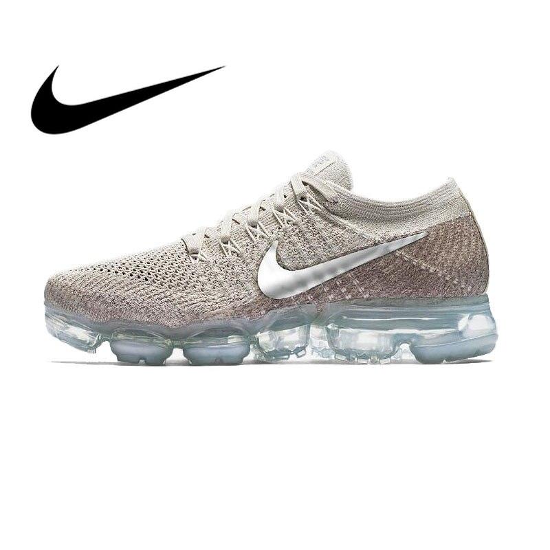 100% authentic 37be9 e4a94 Original auténtico Nike aire VaporMax Flyknit mujer zapatos para correr  zapatillas de deporte deportivo calzado de diseñador 2018 bajo Top 849557