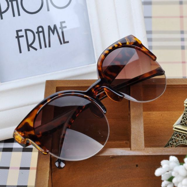 Fashion Vintage Cat-Eyed Sunglasses