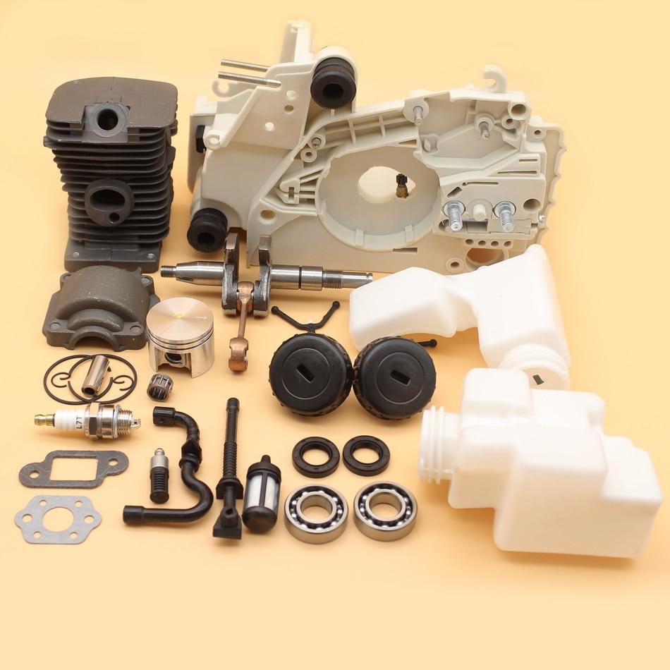Здесь можно купить  Crankcase Cylinder Piston Crankshaft Bearing Oil Seal Kit For STIHL MS180 MS170 MS 180 018 017 Chainsaw Engine Parts 38mm  Инструменты