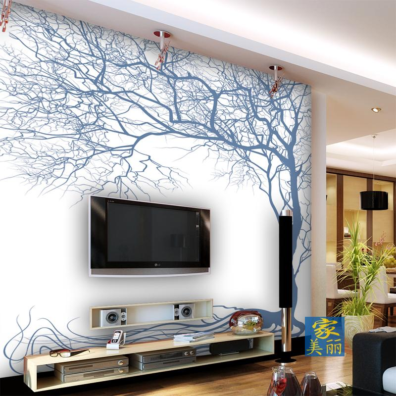 Custom 3d mural mural wallpaper TV background wall large bedroom living room sofa modern line twig rattan wallpaper murals large mural papel de parede european nostalgia abstract flower and bird wallpaper living room sofa tv wall bedroom 3d wallpaper