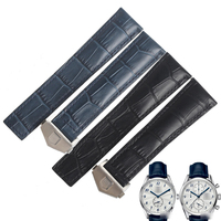 WENTULA watchbands for CARRERA WAS2111.FC6293 CAS2111.FC6292 WAR211B.FC6181 calf leather band cow leather man