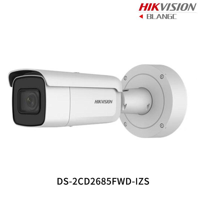 Hikvision 8MP WDR Vari-focal CCTV IP Camera light H.265 DS-2CD2685FWD-IZS Bullet Security Camera 2.8-12mm face detection IP67 new hikvision 8mp mini ip camera h 265 ds 2cd2085fwd i poe camera ip security ip67 4k bullet outdoor cctv surveillance camera