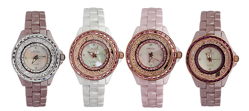 Melissa Marca de Luxo Mulheres Relógio Jóias