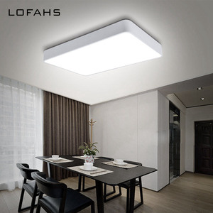 Image 2 - LOFAHS Modern LED ceiling light simple rectangle ceiling fixtures study office dining room bedroom living room led lamp