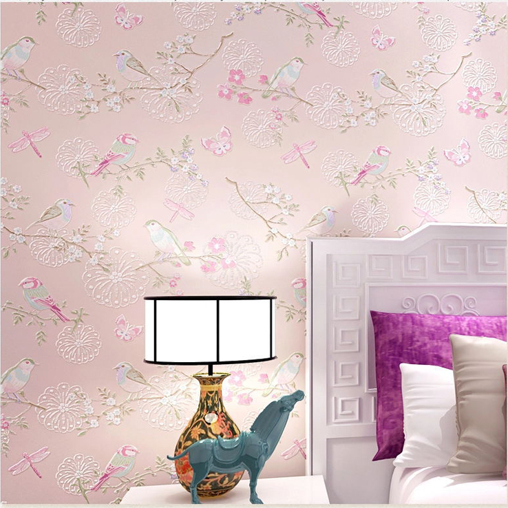 Bird wallpaper for walls bird wallpaper for walls for Wallpaper decoration for home