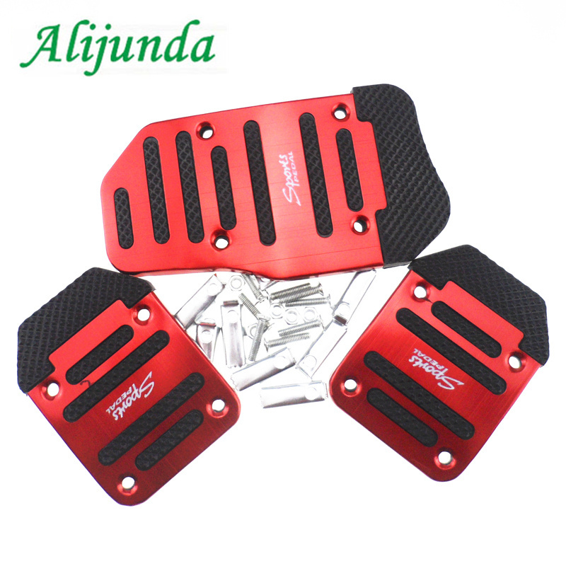 Aluminum Auto Parts Air Brake Pedal Pedi, Styling Sticker