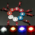 1 Set  12V Car Motorcycle High Power LED Decorative Strobe Flash Brake Tail Light Lamp