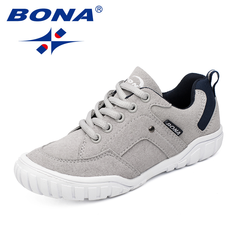 BONA New Classics Style Children Casual Shoes Outdoor Walking Jogging Sneakers Lace Up Boys & Girls Shoes Fast Free ShippingBONA New Classics Style Children Casual Shoes Outdoor Walking Jogging Sneakers Lace Up Boys & Girls Shoes Fast Free Shipping