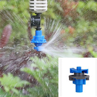 360Degree Rotary Sprinkler Hanging Fog Nozzles Greenhouse Garden Micro Drip Irrigation Fitting Watering Sprayers Nozzle M101