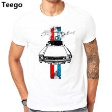 53e6e9bd Create Tee Shirt 2017 Ford Mustang Logo Licensed T Shirt Summer Blank Tt shirt  Jersey(