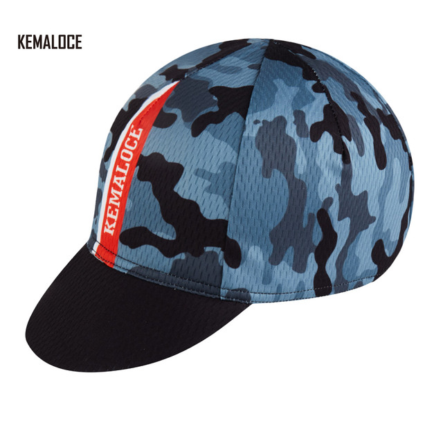 aa6f9e1bab9 KEMALOCE Polyester Wholesale Unique Road Bicycle Black Camouflage Racing Cycling  Cap Bike Hat