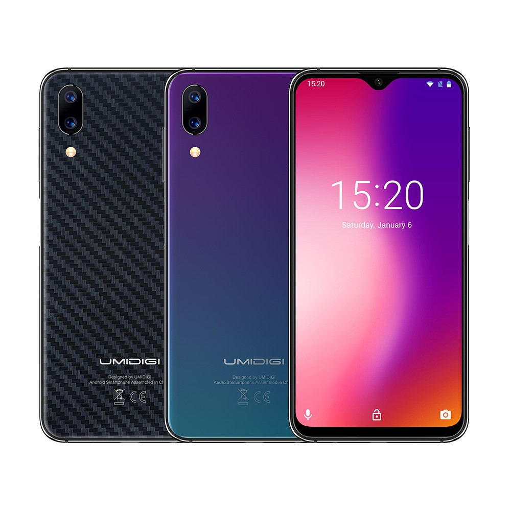 UMIDIGI One Max Waterdrop Full-Screen Mobile phone 4150mAh 4GB 128GB 6.3 Global Version Smartphone NFC Wireless Charging Face ID
