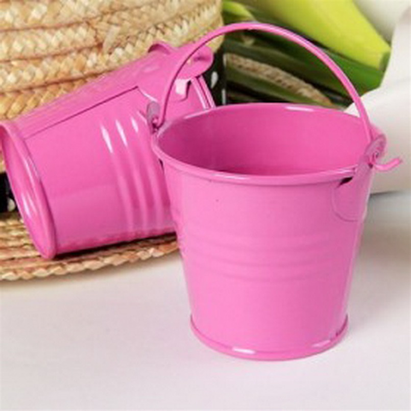 Toys For The Honeymoon : Mini cute colorful candy buckets for wedding birthday