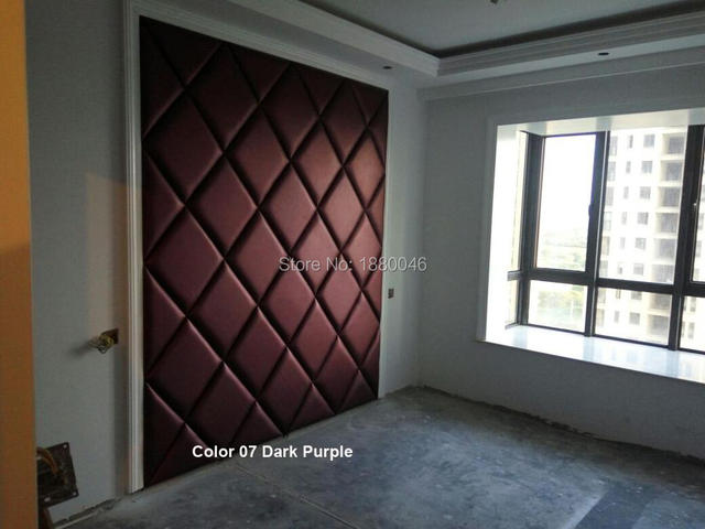 Eco Friendly Wall Decoration Eco Friendly Wall Decoratio Faux Leather Panels PU Leather Panel 3D Wall Panel And 3D Wall Covering