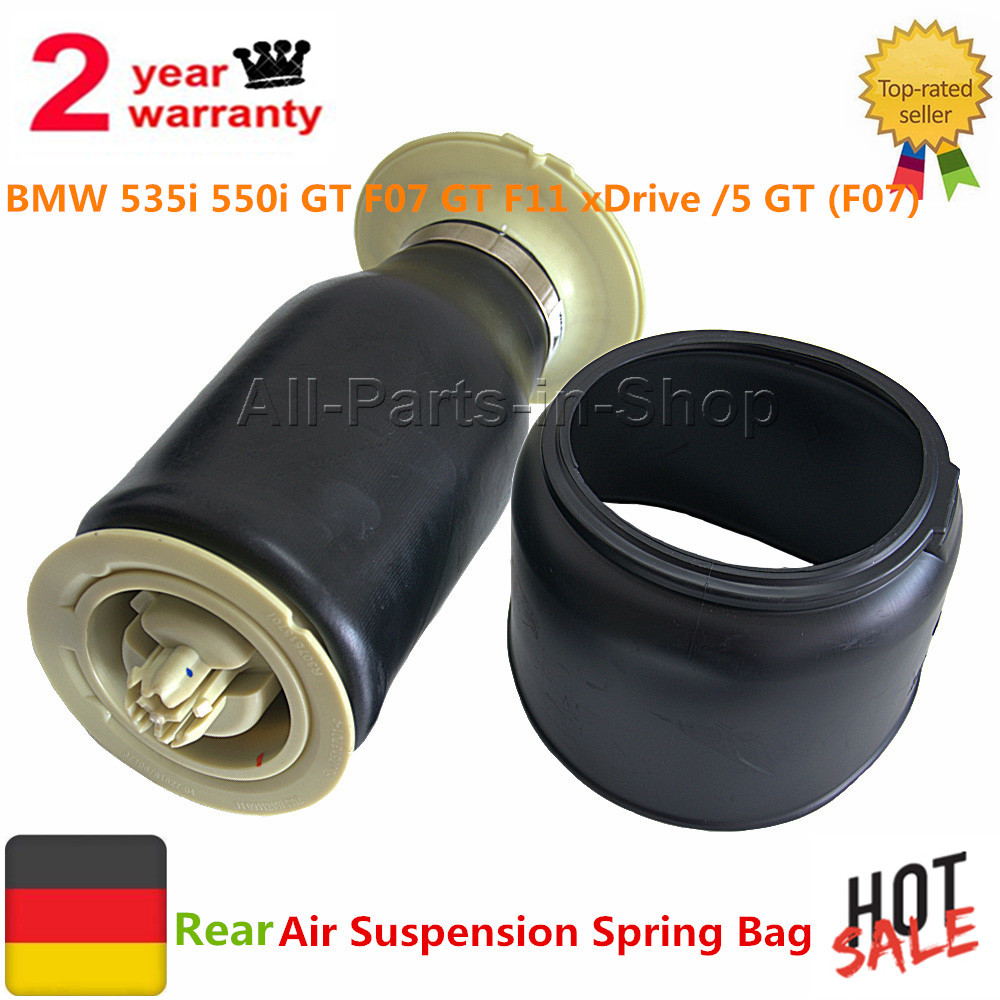 For BMW F07 GT F11 535i 550i 523 GT xDrive New Rear Air Suspension Spring Bag 37106781827 37106781828 37106781843/5 GT F10