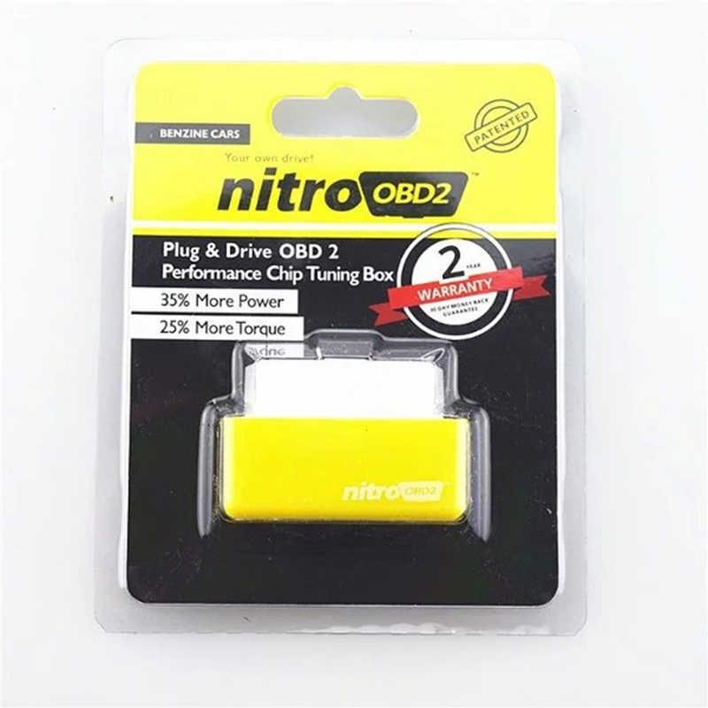Outils de Test de Diagnostic de voiture automatique pour boîte de réglage de puce Nitro OBD2 Eco + Drive pour ECU de Benzine