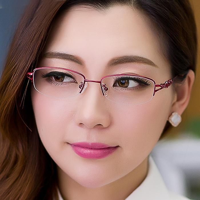Envío gratis 2015 nuevos De titanio marca mujeres gafas gafas De ...