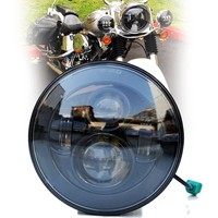 7 inch led Motorcycles headlight with DOT high/low beam led driving light for Harley Motorcycles E mark Approval