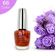 66 Color INFINITE SHINE Nail Polish Gelpolish Color Off LED UV Gel Polish Nail Gel Design Nail Top Base Coat 15ml