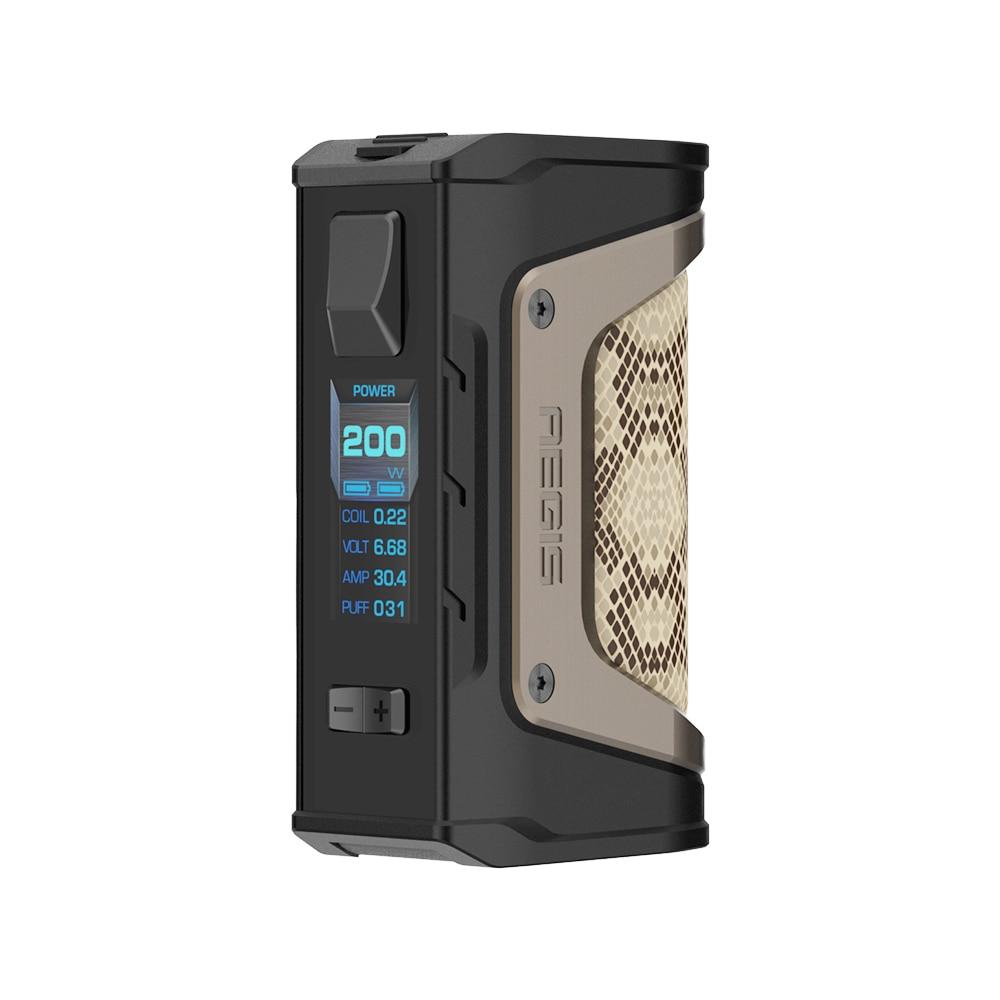 Cadeau gratuit! GeekVape Aegis Legend 200 W TC Box MOD nouveau comme chipset puissance par double 18650 batteries e cigs pas de batterie Aegis Legend MOD - 6