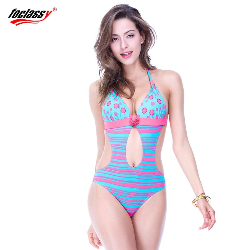 Foclassy új szexi fürdőruha csík plusz plusz méret 3xl nő - Sportruházat és sportolási kiegészítők - Fénykép 4