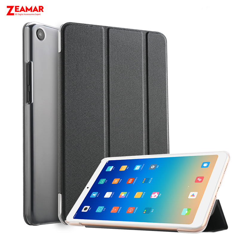 ZEAMAR Case For Xiaomi Mi Pad 4 Plus 10.1'' Leather Smart Stand Cover Hard Back For Mipad 4 Plus Case With Auto Sleep/Wake Up