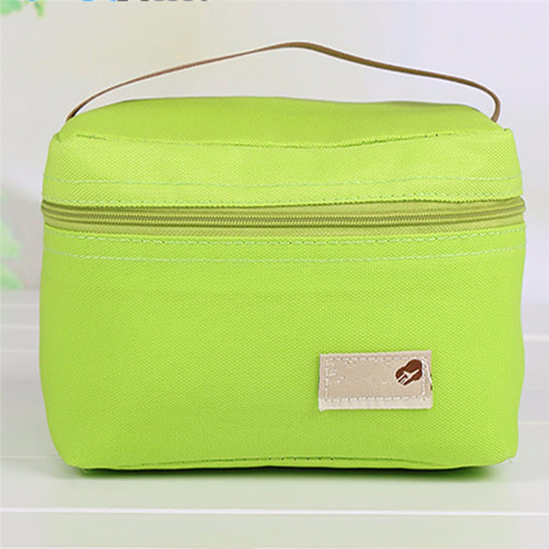 portable Lunch Bag for kids Women lunch box children picnic food bag Thermal Cooler Bento Pouch Insulation Thermo Bag