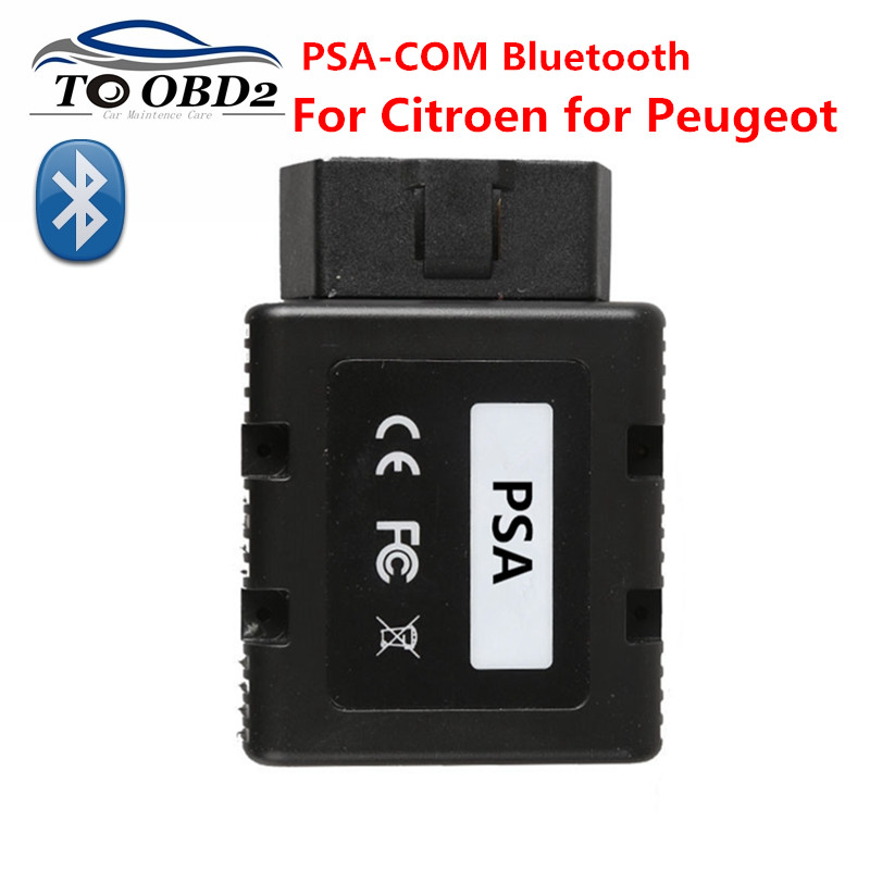 PSACOM PSA COM Bluetooth Diagnostic Tool PSA COM Bluetooth OBD OBD2 For ECU Key programming DTC