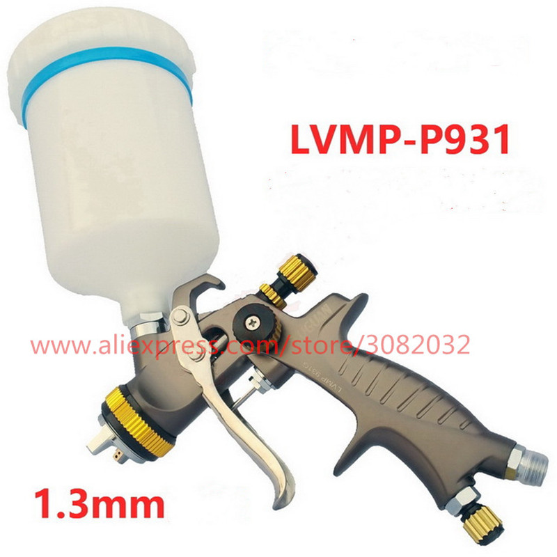 P931 professional spray gun 1 3 1 7 2 0MM LVMP High quality paint spray gun