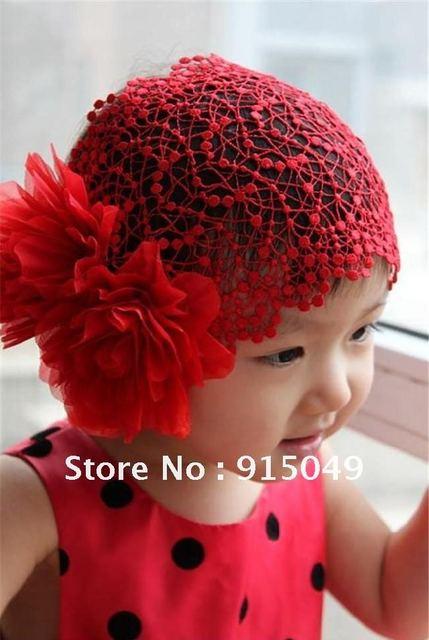 Baby Girl Flower Headband Elastic Hairband Hair Accessories Women Gift